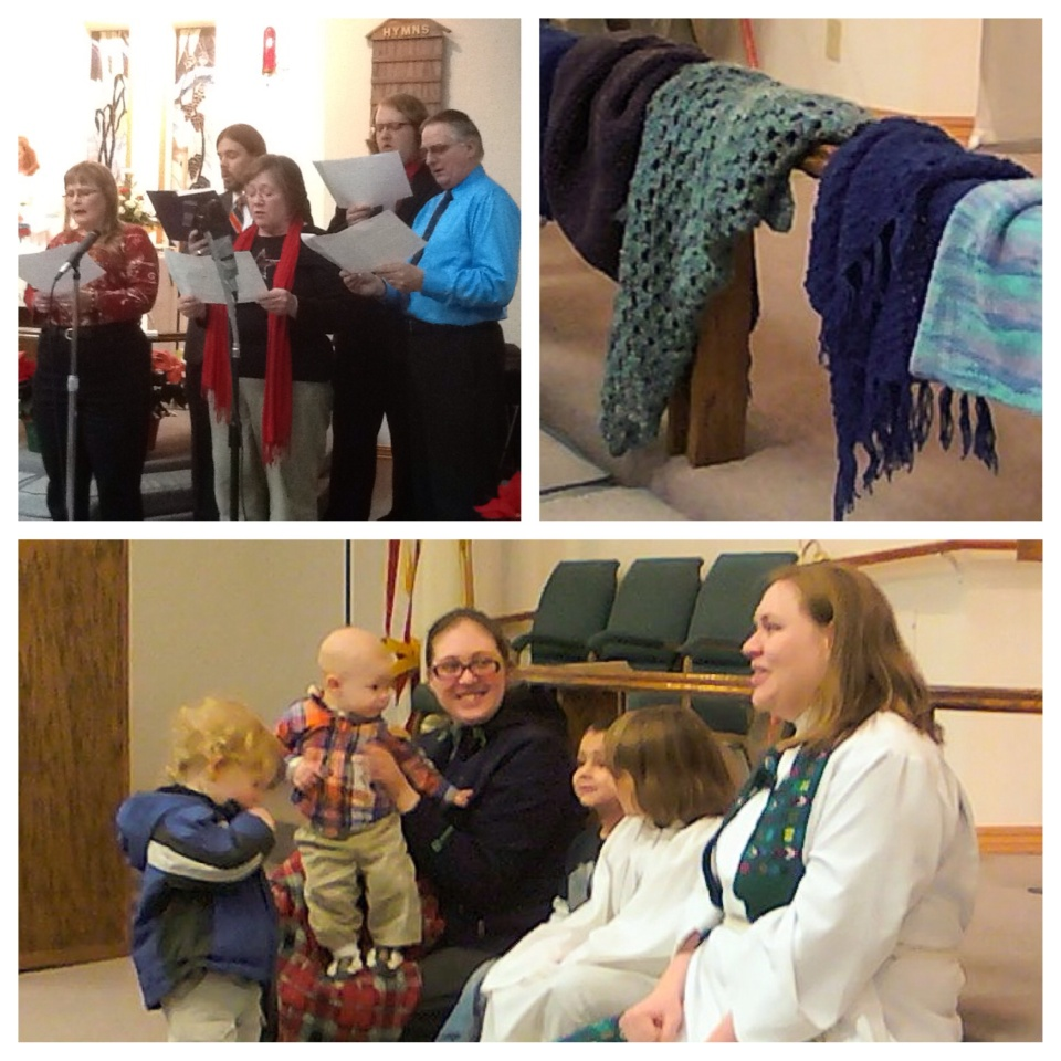 Ministries at OSELC include music, prayer shawls and children's talks